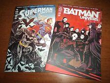 2 REVUES BATMAN UNIVERS N°8 + SUPERMAN UNIVERS N°8