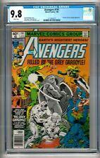 "Avengers #191 (1980) CGC 9.8  White Pages  Michelinie - Perez  ""DD & GarGoyle"""