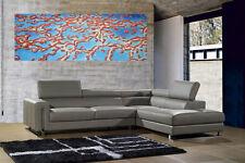 "great barrier reef original Australia Art 59"" x 20"" COA art painting"