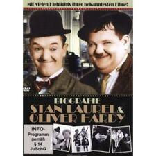 Stan Laurel & Oliver Hardy - Biografie DVD Dick und Doof