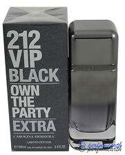 212 VIP BLACK Own The Party Extra For Men EDP Spray 3.4/3.3 oz New In Box