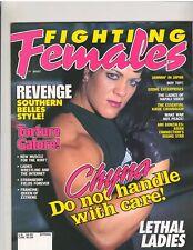 Fighting Females Wrestling Magazine Diva's CHYNA Spring 1999