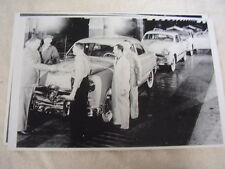 1949 FORD ASSEMBLY LINE WITH H. FORD II   BIG  11 X 17  PHOTO   PICTURE