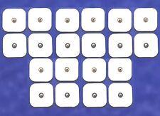 20 Tens Klebe Elektroden Pads Druckknopf f. Sanitas SEM 40 42 43 44 Beurer Gerät