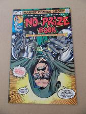 The Marvel No-Prize Book  1 . One Shot . HOT ! Marvel 1982 . VF +