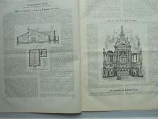 1888 16 Londres st paul Kostheim Mainbrücke saxby Farmer