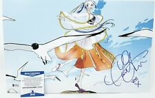 Caitlin Glass signed 11x17 photo Nefertari Vivi One Piece Beckett