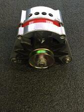 150 AMP BMW Alternator High Output Powder Coated & Vented Polished/Chrome Look