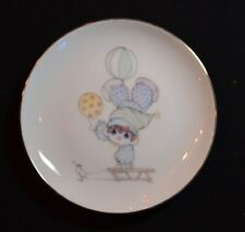 "1984 Precious Moments 6"" Clowns Plate Title "" Our life will be in Balance"""