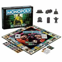 MONOPOLY: Breaking Bad Board Game SEALED UNOPENED FREE SHIPPING