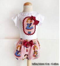 PAPER Printed SEWING PATTERN Baby infant girl LINED bloomers SPANISH STYLE DIY
