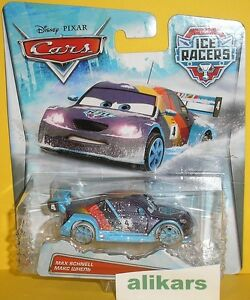 Ice Racers MAX SCHNELL Disney Pixar Cars racing auto diecast German racer car