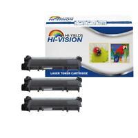 3 PK TN660 TN630 Generic Black Toner Cartridge For  DCPL-2540DW HL-L2300D