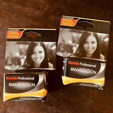 NEW NOS Kodak Professional BW400CN 35mm 24 Exposure - 2 Rolls Sealed in Package