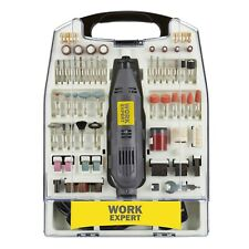 Work Expert 135W Rotary Multi Combi Tool 233pc Accessory Dremel Compatible DIY