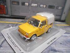 FIAT Polski 126 P 126P Bombel Pickup Pick up gelb yellow Atlas Altaya SP 1:43