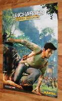 Uncharted Drake's Fortune Very Rare Poster 81x58cm PlayStation 3 PlayStation 4