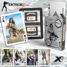 2020 Tactical Girls Calendar Playing Cards Airsoft Hunter Soldier USMC Gift
