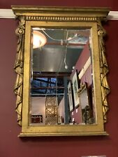 Large French Theatre Ornate Gilt Mirror