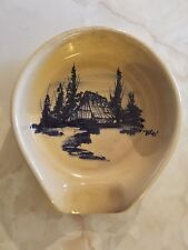 Vintage P. R. Storie Pottery Company Marshall Texas Tent Scene & marshall pottery vintage | eBay