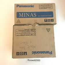 Servo motor, driver and cable 400w Panasonic msmd 042p1c, mbddt 2210 with cable