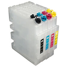 Set For RICOH SG3110DN SG3100SF/SNW SG7100 SG2100 Refillable Ink Cartridge GC41