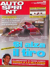AUTOSPRINT n°26 1993 Divorzio Mc Laren Ayrton Senna   [P69]