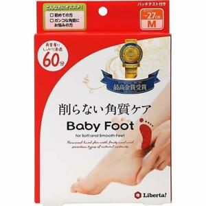 Baby Foot Easy Pack SPT 60 Minutes Type M ~ 27cm Size 35ml x 2 From Japan