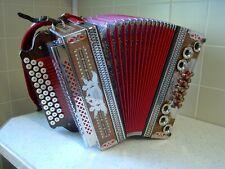 Steirische Harmonika - selbstspielend - Showharmonika mit 270 Liedern