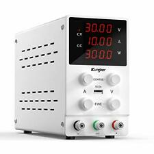 Kungber Dc Power Supply Variable 30v 10a Adjustable Switching Regulated Dc Be