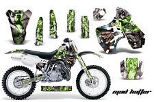 Dirt Bike Graphic Kit Decal Sticker Wrap For Kawasaki KX500 1988-2004 HATTER G S