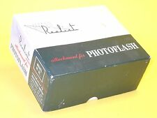 Attachment for PHOTOFLASH for Stereo Realist - NEW with Box and Instructions!