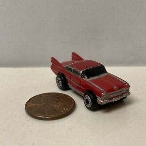 USED (See Pics For Condition) Micro Machines Red '59 Cadillac Coupe