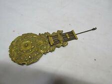 ancien balancier de pendule horloge