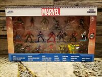 Marvel 20-Piece Set Nano Metalfigs Diecast 20 Pack Figurines by Jada Toys NEW