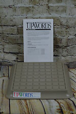 Upwords Replacement Board and Instructions 1988
