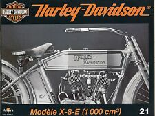 MOTOR CYCLES / UN SIECLE DE HARLEY DAVIDSON / ANNEE 2012 / N° 21 MODELE X-8-E