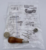 Speedy Stitcher Sewing AWL Leather Canvas Molle gear, 3 Stitching Needles Thread