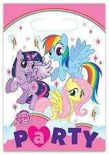 Clearance My Little Pony Plastic Party Loot Bags X 8