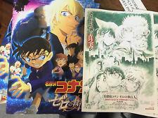 Detective Conan ZERO the ENFORCER 2018 Japan cinema PROGRAM pressbook + BONUS!