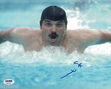 Mark Spitz Signed 8x10 Auto PSA Swimming USA Gold Indiana University AAU NCAA