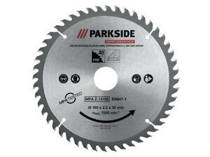 Lames pour scie circulaire 160 x 2,4 x 30 mm pour bois et MDF 48 dents