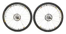 "Mavic Crossmax SL 26"" 9/10 Spd Alloy Tubeless Mountain Bike Wheelset 6-Bolt MTB"