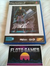 Jeu Operation Winback pour Sony Playstation 2 PS2 Complet CIB - Floto Games