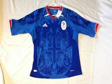 New Adidas 2012 London Olympic GB Great Britain Medium Soccer Football Jersey M