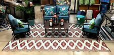 Clearance Outdoor Patio Rug 9' X 12'  Rv Camping picnic Mat 300