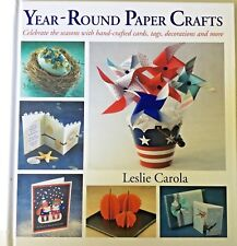 Year-Round Paper Crafts by Leslie Carola - Arena Books Assoc, LLC - NEW