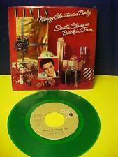 ♫ ELVIS PRESLEY  Merry Christmas Baby & Santa Claus Is Coming...45 record  ♫