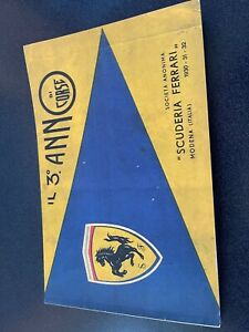 Il Quarto Anno Di Corse, 1932 Scuderia Ferrari Yearbook 2nd Printing