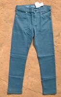 Gymboree Boys Yellow //Mustard Skinny Stretch Denim Jeans w// adj waist NWT 11